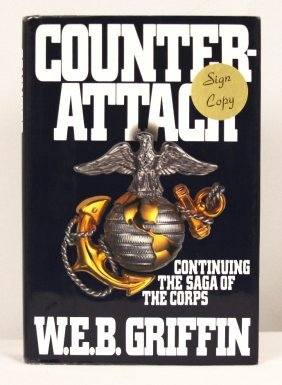 "Autographed Copy Of ""Counter-Attack"" BK193"