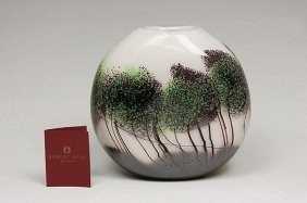 "New Robert Held ""Scapes"" Collection Hand Blown Art Glas"
