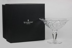 BNIB Waterford Water Ville Artisan Compote Large ED1340