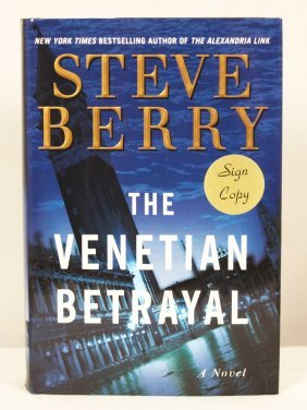 "Autographed Copy Of ""The Venetian Betrayal"" BK144"