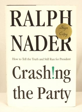 "Autographed Copy Of ""Crash!ng The Party"" BK142"