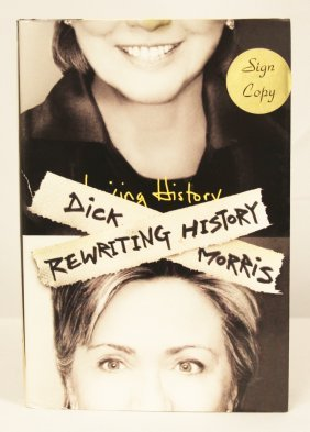 """Autographed Copy Of """"Rewriting History"""" BK86"""