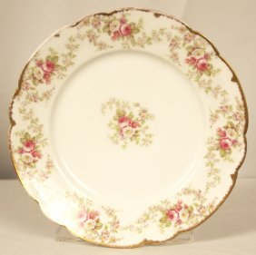 Antique Limoges Dinner Plate ED1246