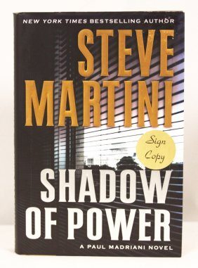 "Autographed Copy Of ""Shadow Of Power"" BK164"