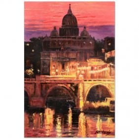Sunset Over St. Peter's By Behrens