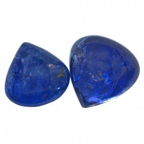 16.06ctw Cabochon Mixed Tanzanite Parcel