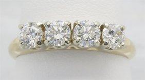 0.91ctw Diamond Ring - 14kt Yellow Gold