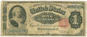 1891 $1 Martha Washington Silver Certificate