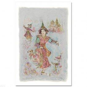 Thai Dancers By Hibel