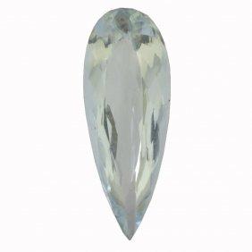 6.6ctw Pear Aquamarine Parcel