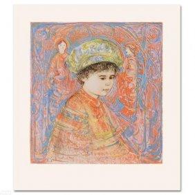 Boy With Turban By Hibel
