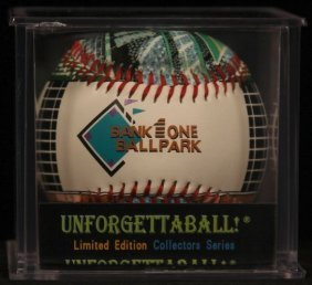 "Unforgettaball! ""bank One Ballpark"" Collectable"