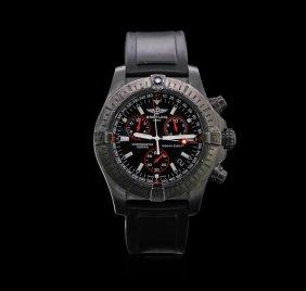 Breitling Blacksteel Avenger Seawolf Men's Watch