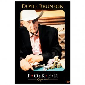 Doyle Brunson By Grossman And Dethomas