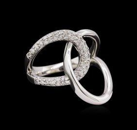 0.30ctw Diamond Ring - 14kt White Gold