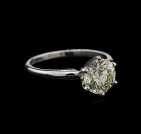 1.62ct Diamond Ring - 14kt White Gold