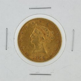 1899-s $10 Liberty Head Eagle Gold Coin