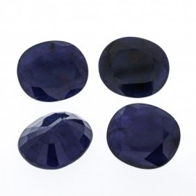 56.02ctw. Natural Oval Sapphire Parcel