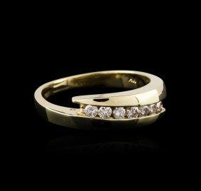 14kt Yellow Gold 0.30ctw Diamond Ring