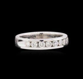 0.50ctw Diamond Ring - 14kt White Gold