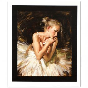 Thoughts Before The Dance By Andrew Atroshenko
