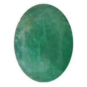 3.45ctw Oval Emerald Parcel