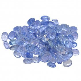 13.35ctw Oval Mixed Tanzanite Parcel