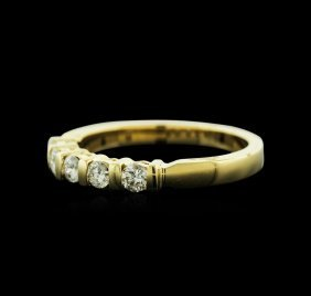 14kt Yellow Gold 0.41ctw Diamond Ring