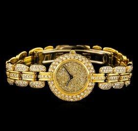 Renato Ferraris 18kt Yellow Gold 4.00ctw Diamond Ladies
