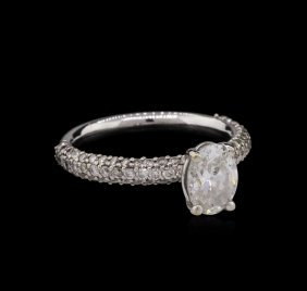 18kt White Gold Egl Usa Certified 1.92ctw Diamond Ring