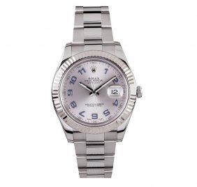 Rolex Stainless Steel Datejust Ii Men's Watch