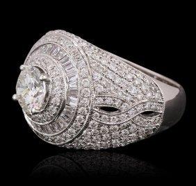 18kt White Gold 2.97ctw Diamond Ring