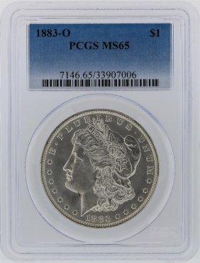 1883-o Pcgs Ms65 Morgan Silver Dollar
