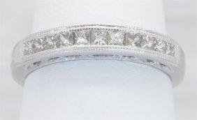 0.40ctw Diamond Ring - 14kt White Gold