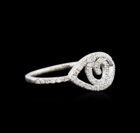0.23ctw Diamond Ring - 14kt White Gold