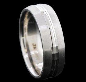 14kt White Gold Band Ring
