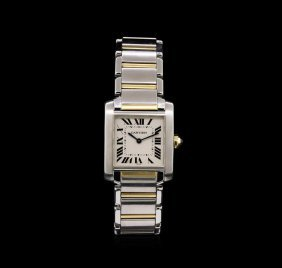 Cartier Two-tone Tank Francaise Ladies Watch