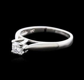 Platinum 0.30ct Diamond Solitaire Ring