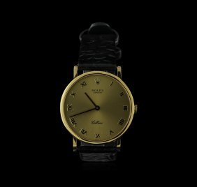 Rolex 18kt Yellow Gold Cellini Watch