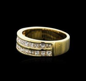 14kt Yellow Gold 1.02ctw Diamond Ring