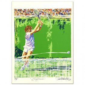 Jimmy Conners (tennis) By Henrie (1932-1999)