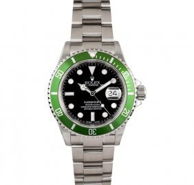 Rolex Stainless Steel Submariner Anniversary Edition