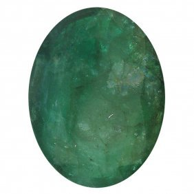 8.04ctw Oval Emerald Parcel