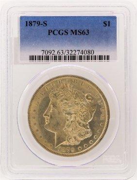 1879-s Pcgs Ms63 Morgan Silver Dollar