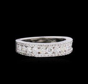 0.80ct Diamond Ring - 14kt White Gold