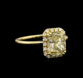 14kt Yellow Gold 2.41ctw Diamond Unity Ring