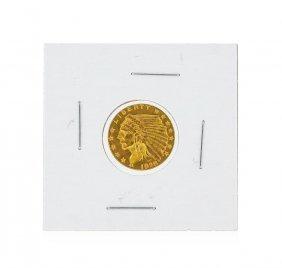 1928 $2.50 Bu Indian Head Quarter Eagle Gold Coin