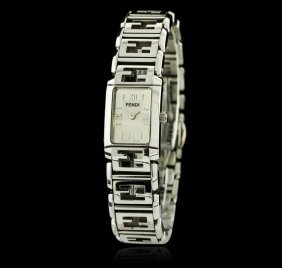 Fendi Orologi Stainless Steel Watch