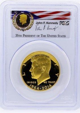 2014-w Pcgs Pr69dcam 50th Anniversary Jfk Half Dollar