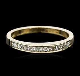 14kt Yellow Gold 0.36ctw Diamond Ring